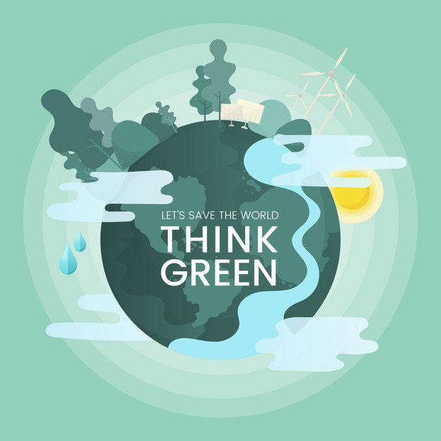 think green: renewable