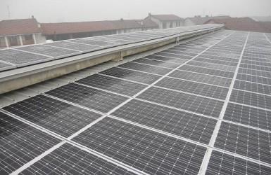 Impianto fotovoltaico vicino Torino