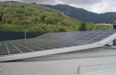 Impianto fotovoltaico vicino a Novara