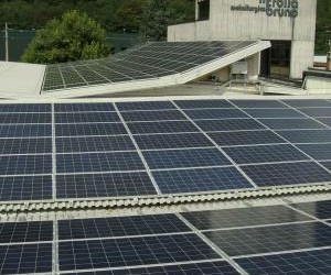 Photovoltaic system in the province of Novara