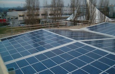 Photovoltaic system in the province of Milan