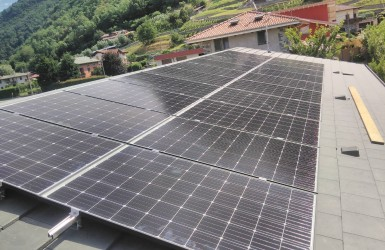 Sistema fotovoltaico en Vimercate