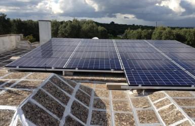Sistema fotovoltaico en Apulia