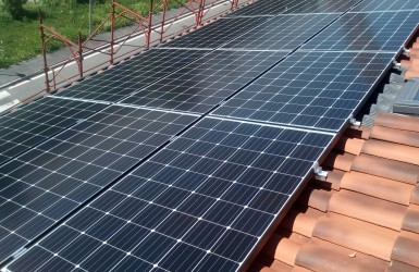 Solar panels for energy savings
