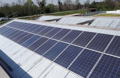 Módulos solares para ahorro energético