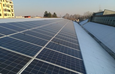 Completion of a photovoltaic plant with Amerisolar solar modules