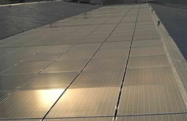 Sistema fotovoltaico en Canegrate