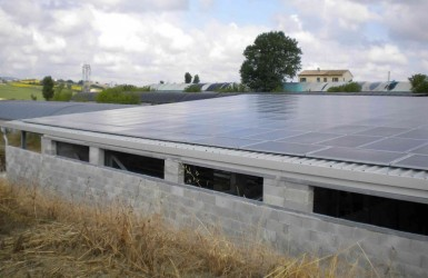 Realization of a photovoltaic system in Filottrano