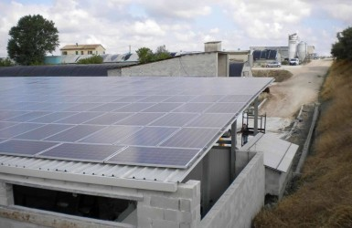 Photovoltaic system in the province of Ancona