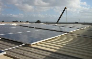 Impianto fotovoltaico in provincia di Livorno