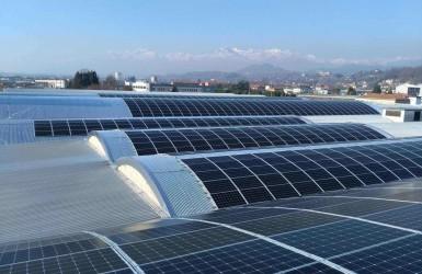 Impianto fotovoltaico in provincia di Biella