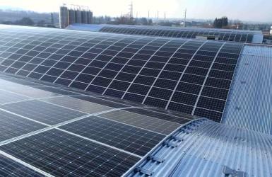 Realizzazione impianto fotovoltaico a Cerreto Castello
