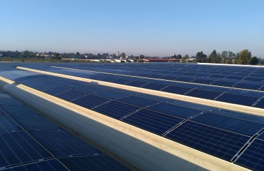 Photovoltaic system in the province of Cremona