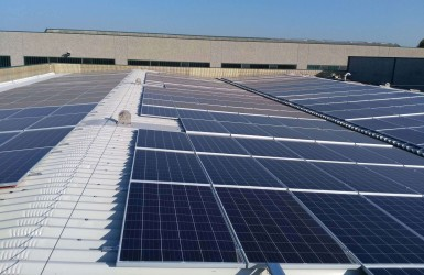 Realization of a photovoltaic system in Pompiano