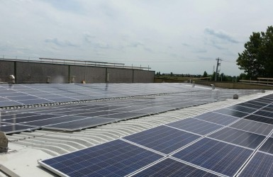 Photovoltaic system in the province of Brescia